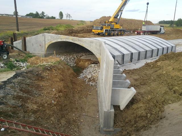 Precast Concrete Wingwalls : Eco span precast concrete arch bridge systemeco